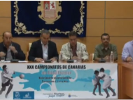 Presentación del XXX Campeonato Canarias Escolar Bola y Lucha