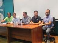 Presentación de la nueva directiva de la Federación Insular de Barquillos de Vela Latina