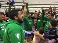 Celebración del título de Liga del C.L. Maxorata