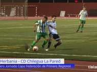 Resumen CD Herbania – CD Chilegua La Pared